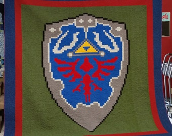 Hylian Shield Quilt