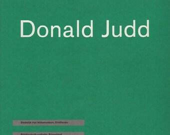 CRONE, Rainer. Donald Judd.