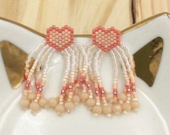 Small earring heart