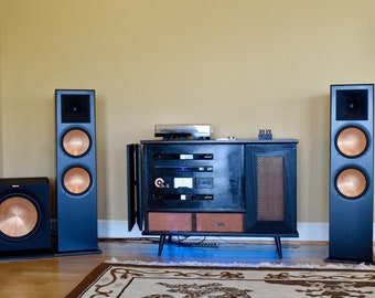 Custom Retro Stereo Cabinet Hifi Build