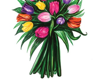 Mothers' Day Bouquet Card