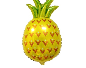 "31"" Pineapple Balloon, Summer Party, Hawaiian Luau, Pool Party, Luau, Island Theme Party, Summer Birthday, Luau Balloons, Pineapple Party,"