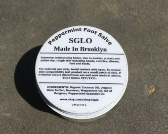 Peppermint Foot Salve
