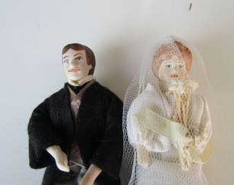 Bride and Groom Dolls