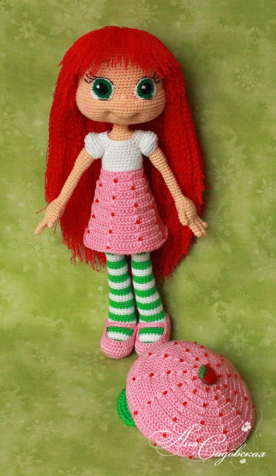 Crochet Strawberry Shortcake Doll Pattern Image Collections