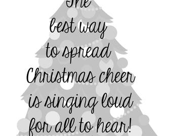 Christmas Cheer - Digital Print 8x10