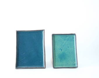 rectangular ceramic plate