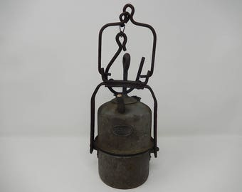 Old carbide lamp ARRAS, free shipping