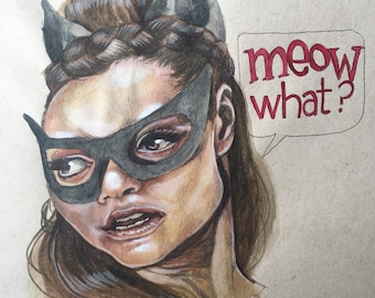 "ORIGINAL Eartha Kitt as ""Catwoman"""