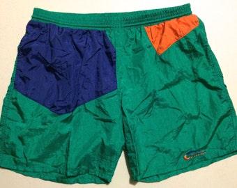 XL Givenchy Activewear Swim Trunks 1990's