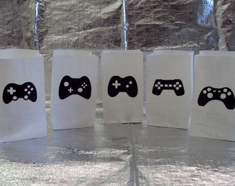 Video Game Controller Party Bags