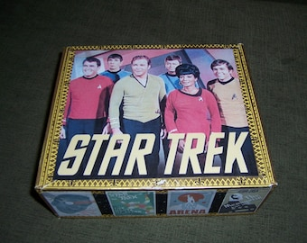 Star Trek Cigar Box