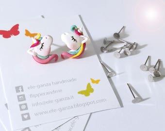 little unicorn earrings