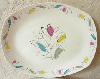 Vintage MIDWINTER StyleCraft JESSIE TAIT Harmony Serving Platter Plate England