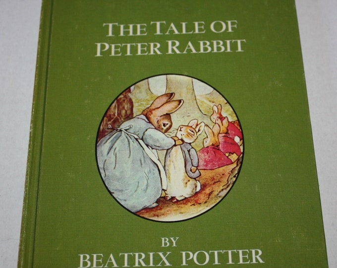 Dandelion Library - The Tale of Peter Rabbit/The Travels of Babar 2 in 1 Flip Book HC 1960's