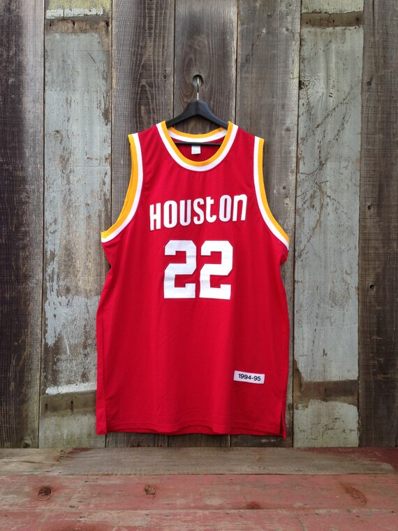 Vintage Clyde Drexler Houston Rockets Jersey