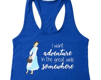 Disney Shirt for Women, Beauty and the Beast Shirt, Family Disney Shirts, Belle Ladies Disney Tank Top