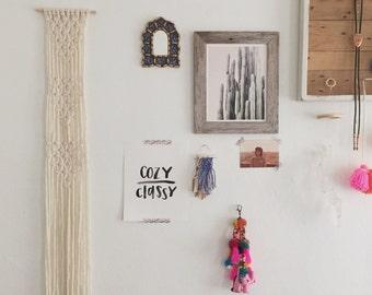 wyatt / macrame wall hanging