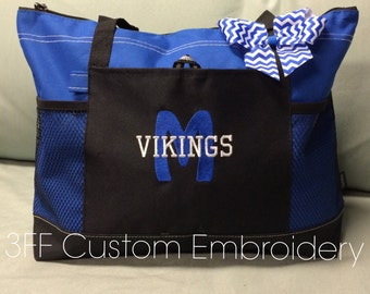 Personalized Select Tote Lots of Colors to Choose from Custom Embroidery Makes a Great Gift