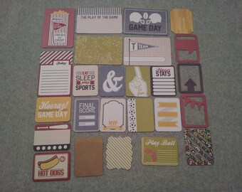 We R Memory Keepers GAME DAY project life  - set of 25