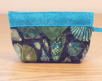 Quilted Snap Bag (SB402) Sea Shells