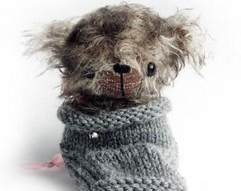 kitten BOOTS - OOAK artist bear and friends epattern by Jenny Lee of jennylovesbenny bears PDF