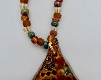 Star Trek Inspired Ceramic Necklace