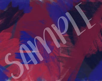 Navy, blue and purple brush strokes - Background 4