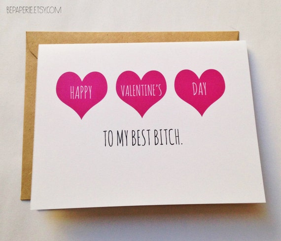 Friend Valentine's Day Card Best Friend Valentine