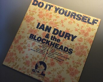 Ian dury etsy vinyl ian dury the blockheads do it yourself solutioingenieria Choice Image