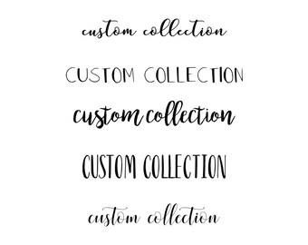 Custom Invitation Package