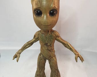 Baby Groot GOTG 2 life size 9.5 inches