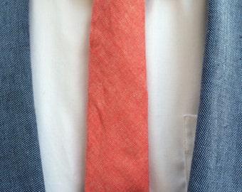 Skinny Wood Tie Bar - Cocobolo Wood Tie Clip, gift under 25, men's gift, wood, Cedar, men's wear, anniversary gift, Valentine's Day Gift