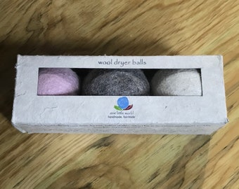 Fair Trade Handmade Wool Dryer Balls