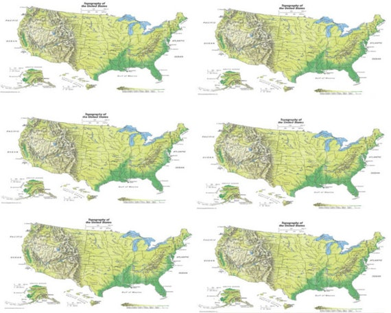 United States Map Birthday - Edible Cake Side Toppers- Decorate The Sides of Your Cake! - D24015