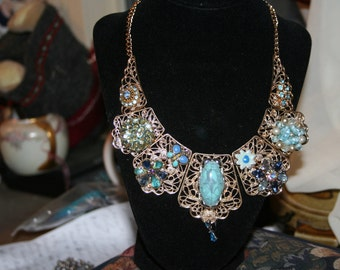Turquoise Dreams/ Statement Necklace
