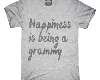 Happiness Is Being A Grammy T-Shirt, Hoodie, Tank Top, Gifts