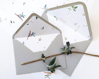 New Shoots Buddleia Wedding Envelopes - 100 Pack Offer - Eco and Vegan Friendly
