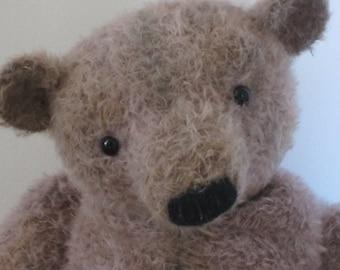 SALE - Herbert - Large OOAK Handmade Mohair Artist Bear