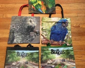 Tote bags- 4 designs featuring original artwork