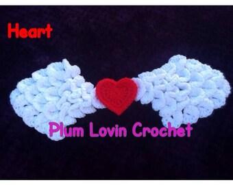 Crochet Angle Wings Photo Prop
