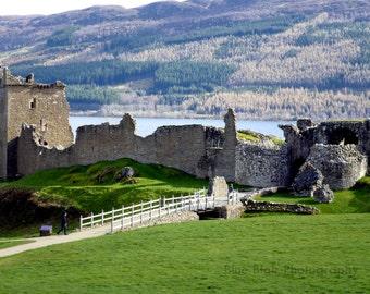 Urquhart Castle print