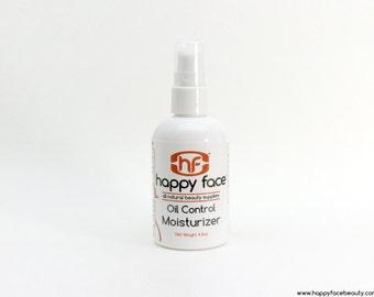 Skin Moisturizer 4 oz - Oil Control - All Natural (Step 4 of 4)