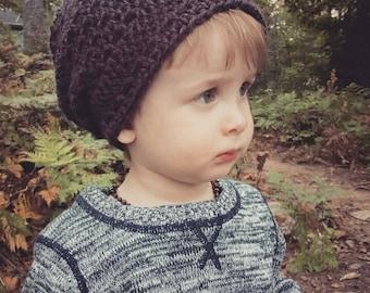 Crochet Slouchy Beanie // Slouchy Beanie // Crochet Beanie // Crochet Beanie Hat // The 'Cade' Slouchy