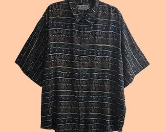 """Camisa 19 de la serie """"Androgynous"""" vintage unisex oversize 90s"""