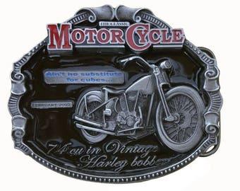 Officially Licensed Belt Buckle Harley Bobber DDMR 2020