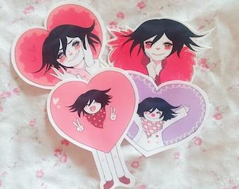 kokichi ouma lovely sticker set