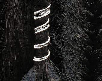 Hair Braid Jewelry, Braid Beads, Braid Accessories, Hair Jewelry for Braids, Dread beads, Dreadlock Jewelry, Hair Accessories, Hair Cuffs