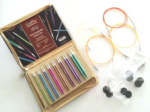 Výsledek obrázku pro interchangeable needles knit pro zing