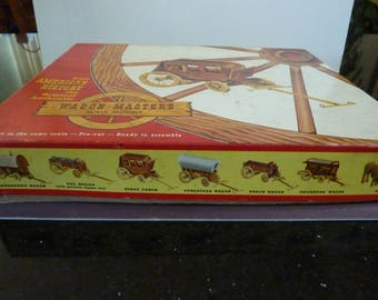 Vintage Wagon Masters Stage Coach Model Kit